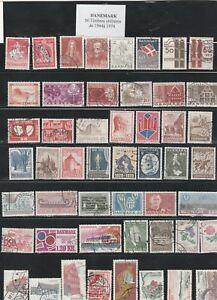 50-timbres-du-DANEMARK-obliteres-de-1944-a-1974-tres-bon-etat-identique-au-scan