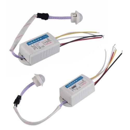 110//220V IR Infrared Body Motion Sensor Automatic Light Lamp Control AIP
