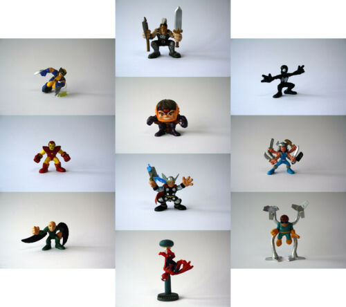 Marvel Hero Squad-choix de 10 différents loose figures inc Spiderman Iron man