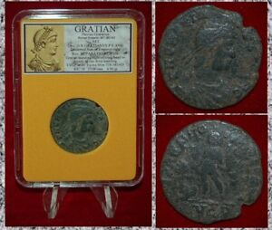 Ancient-Roman-Empire-Coin-Of-GRATIAN-Emperor-Gratian-Holding-Victory