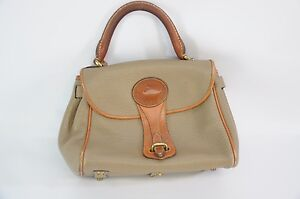 bruin weather all lederen DooneyBourke handtas Vintage Taupe PZukXwOTil