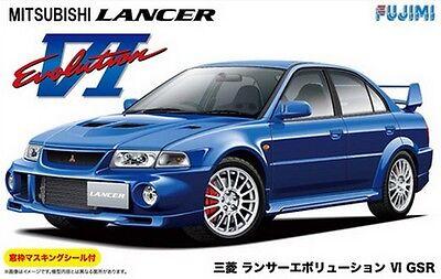 New Fujimi ID-180 Mitsubishi Lancer Evolution VIII GSR 1//24 scale model kit JP