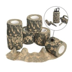1-Roll-Camo-Gun-Hunting-Waterproof-Camping-Camouflage-Stealth-Duct-Tape-Wrap