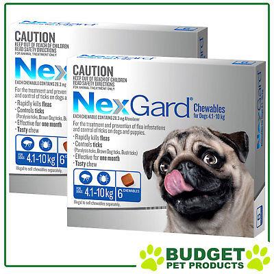 NexGard Nexguard Flea & Tick Treatment For Dogs - 12 CHEW VALUE PACK