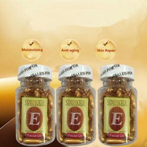 60-Capsules-Vitamine-E-VE-Creme-Visage-Soin-de-Peau-Anti-tache-Blanchiment-Serum