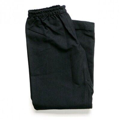 Karate Medium Heavy Weight Uniform 10 oz Poly Cotton Karate Gi-BLACK Karate Gi