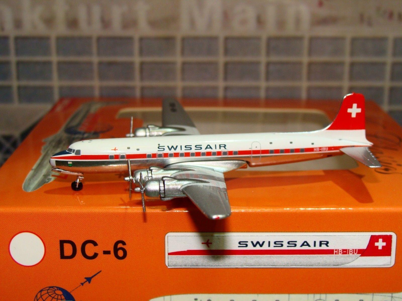 Swissair DC-6 (HB-IBU), 1 400 Aeroclassics