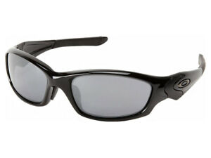 9456da9478 Image is loading Oakley-Straight-Jacket-Sunglasses-04-325J-Polished-Black-