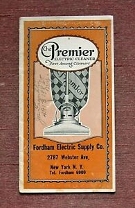 Art Deco Fordham Electric Supply Vacuum Cleaner Webster