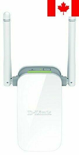 D-Link Wireless N300 Range Extender with 1 Fast Ethernet Port