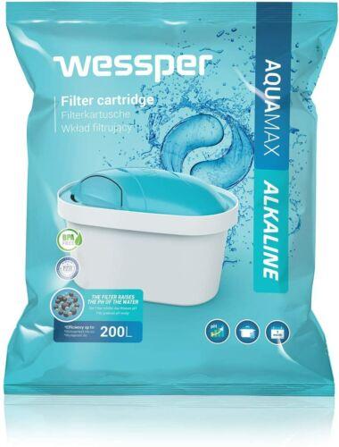 m Wessper 4er Pack Alkalischer Wasserfilter Komp BRITA Maxtra BWT WES003-ALKAL