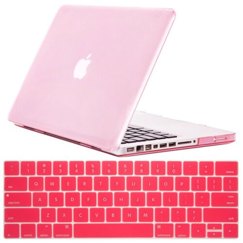 """Shockproof Slim Hard Case Keyboard Cover For MacBook Pro 15.4/"""" A1286 13.3/"""" A1278"""