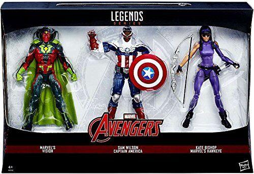 Marvel Legends AVENGERS 6  figure toy set , Vision, Hawkeye & Cap America Falcon