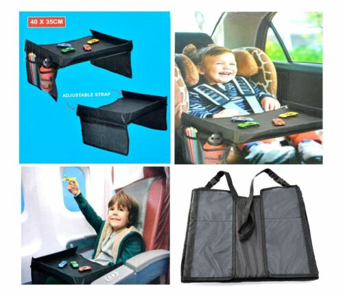 SHINE SNACK /& PLAY TRAVEL TRAY ADJUSTABLE STRAP CHILDREN PRACTICAL ACTIVITY POCK