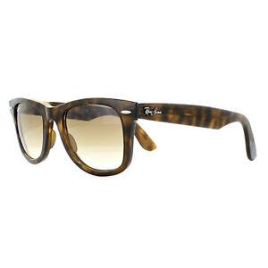 d4f6cdf360 Details about Ray-Ban Sunglasses Wayfarer Ease RB4340 710 51 Tortoise Light  Brown Gradient