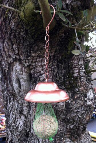 wildbird bell fat feeder hanging hooks metal hanger garden outdoor fat ball