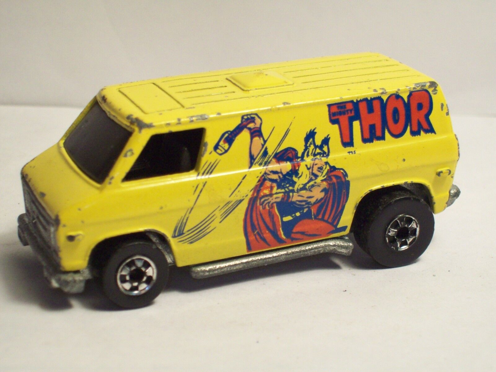 Original  Rare  Vintage  1974 Hot Wheels   Thor   Van Made in  Hong Kong