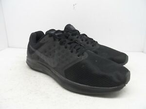 99dcdf55a07a Nike Men s Downshifter 7 Athletic Running Shoes Black Black Size 11M ...