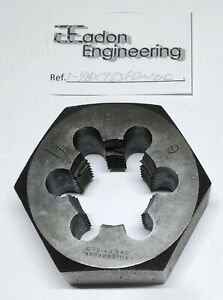 """By top brands. Unified National Coarse Button Die HSS 5//16/"""" x 18TPI UNC"""