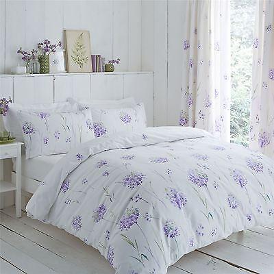 Der GüNstigste Preis Lauch Blumen Lila Grün 144 Tc Baumwollmischung Kingsize-bettbezug Bettwaren, -wäsche & Matratzen