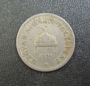 n1-UNGARN-Hungary-Magyar-10-FILLER-1894-coin-munze
