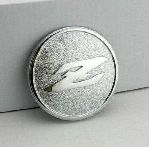 Car Chrome Badge Emblem Z for Fairlady 350Z 350ZX 300ZX Z33 Z32 3D Logo Silver
