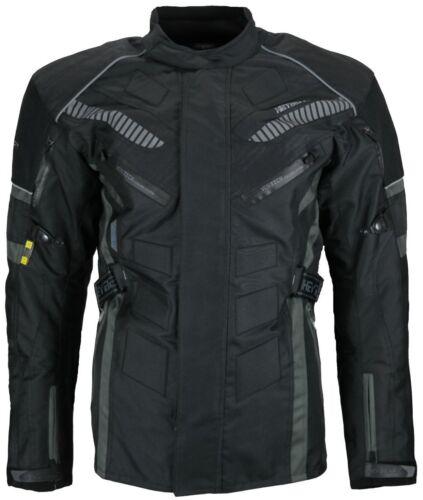 Enduro Touren Motorradjacke Textil Heyberry grau Gr M L XL XXL 3XL