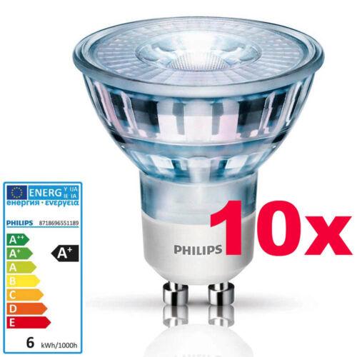 PHILIPS GU10 LED Lampe 5,3 Watt Strahler Spot Glas wie Halogenlampe Leuchte