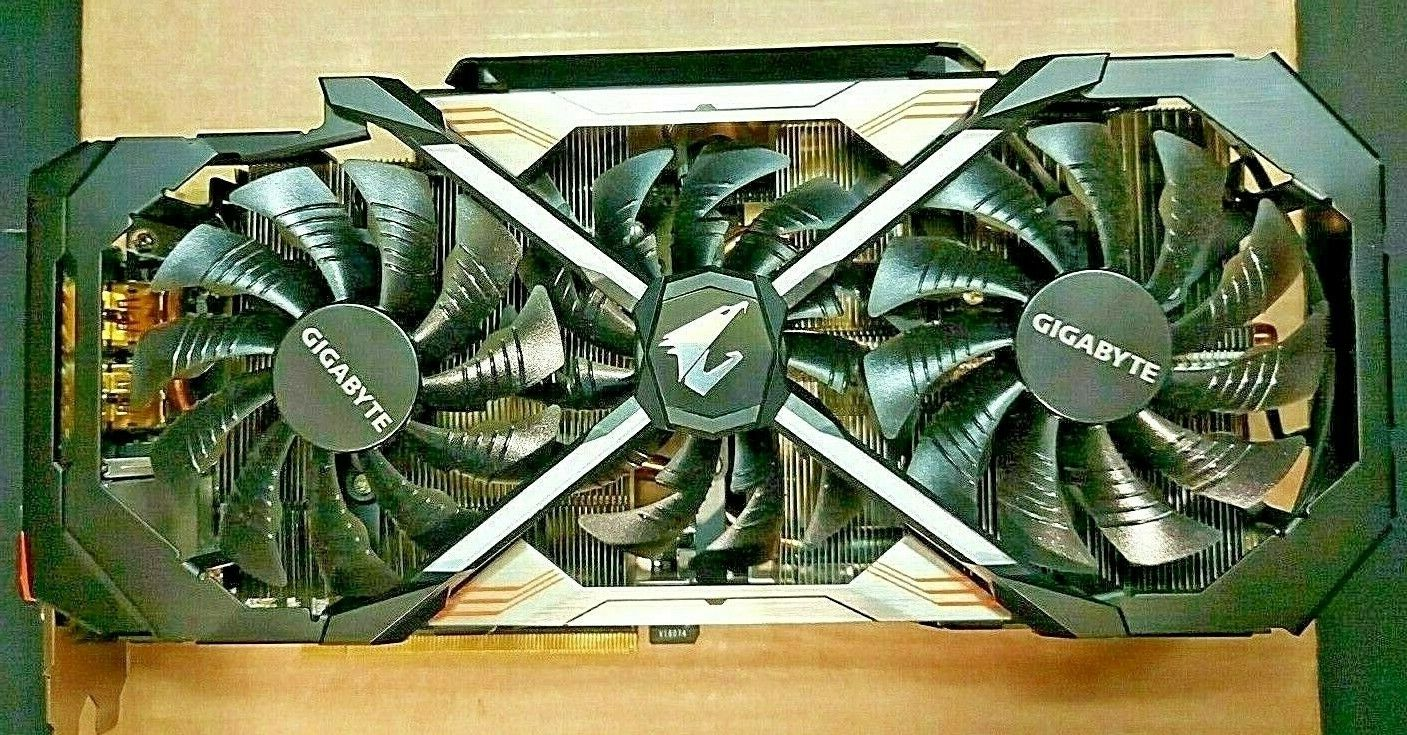 Aorus GeForce Experience GTX 1070Ti 8G Graphics CardVRGigabyte For parts