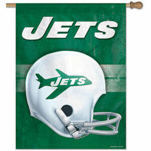 fafb60aa Image is loading NFL-New-York-Jets-Throwback-Retro-House-Flag