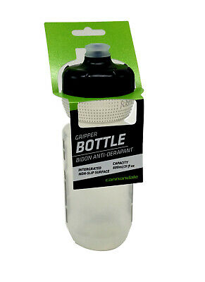 Cannondale Retro Vintage Cycling Water Bottle Clear//Green 600ml