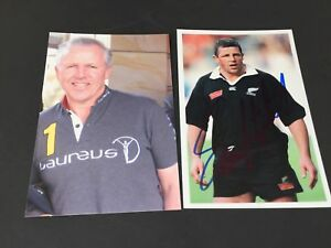 SEAN-FITZPATRICK-Rugby-player-ALL-BLACKS-in-person-signed-photo-4-x-6-autograph