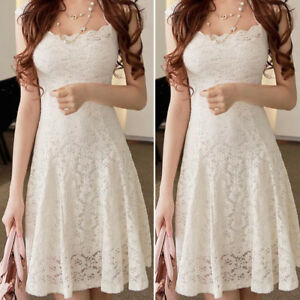 Fashion-Women-Lace-Short-Sleeve-Party-Cocktail-Evening-Bodycon-Summer-Mini-Dress