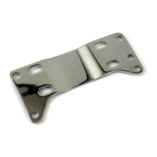 Chrome Transmission Mounting Plate For Harley-Davidson Softail 1986-99