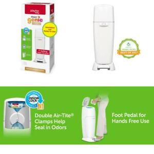 Fully Assembled Playtex Diaper Genie Complete Diaper Pail with Odor Lock Techn