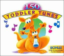 150 Toddler Songs (Dig) [2 Audio CDs + 1 CD Rom] by