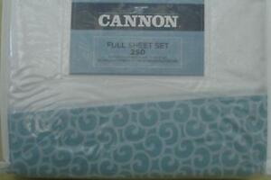Cotton Blend 250 TC VARIOUS Cannon Rubie Rose Sheet Set BRAND NEW IN PACKAGE