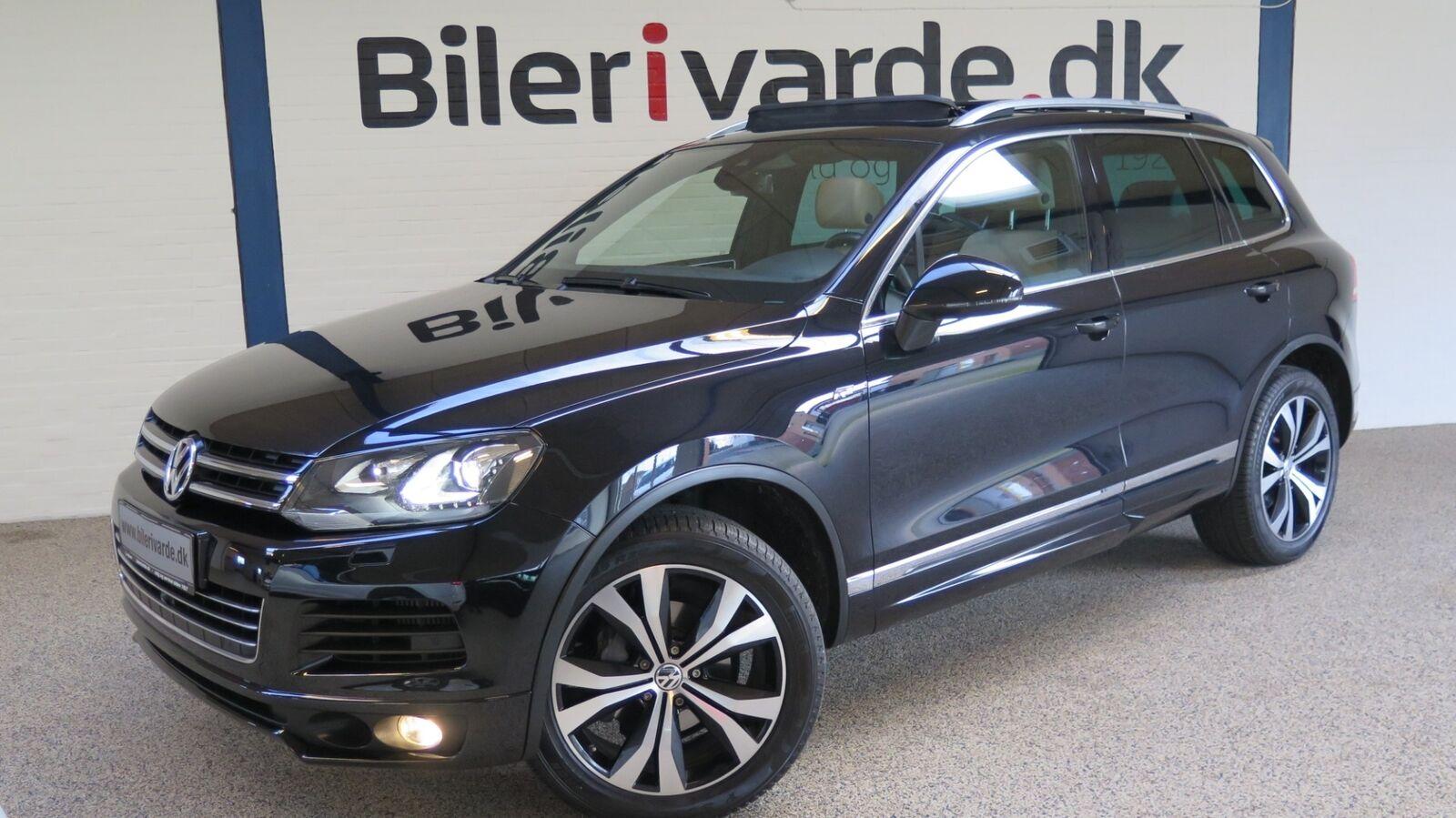 VW Touareg 3,0 V6 TDi Tiptr. 4M BMT 5d - 479.850 kr.