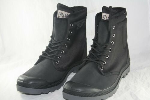 MEN/'S PALLADIUM PAMPA SOLID RANGER TP BLACK 75564-008-M with a removable BAG