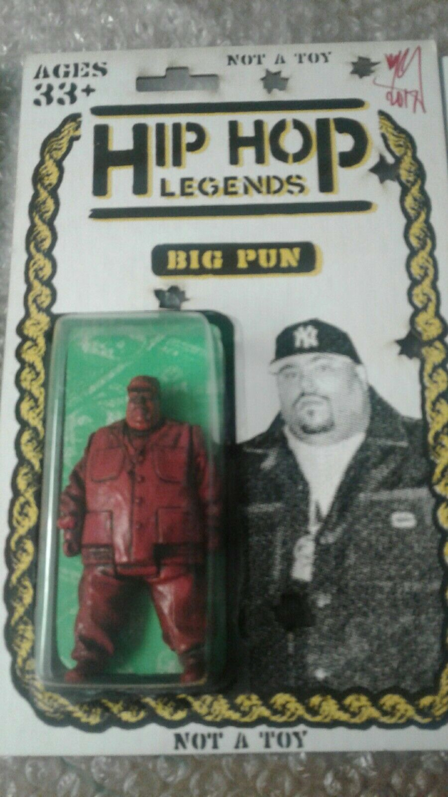 Hip Hop Leyendas trampa Juguetes  ryca  killer Bootleg junkfed DKE NYCC 3/5 Firmado