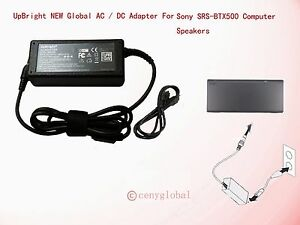 AC Adapter For SONY SRS-BTX500 Bluetooth Wireless Speaker SRSBTX500 Power Supply