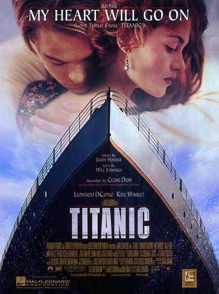 My Heart Will Go On Celine Dion Easy Piano Edition Titanic Sheet