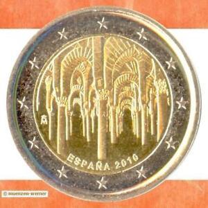 Sondermünzen Spanien 2 Euro Münze 2010 Cordoba Sondermünze Zwei