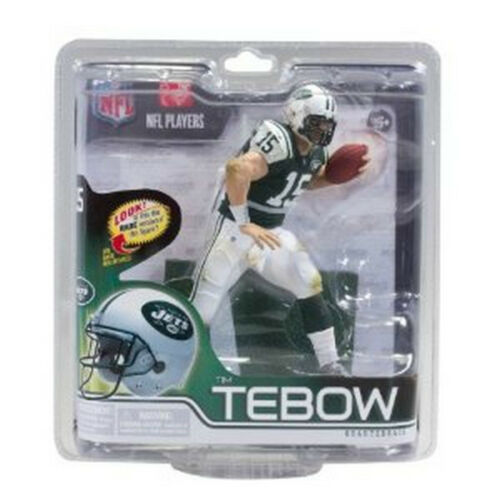 Tim Tebow New York Jets McFarlane action figure new in original packaging NFL