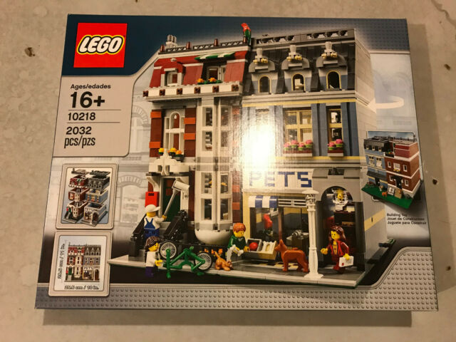 Sealed LEGO Creator 10218 Pet Shop 2032 pcs NEW Free Shipping RARE SET NEW