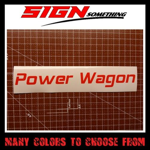 Power Wagon Decal Sticker powerwagon