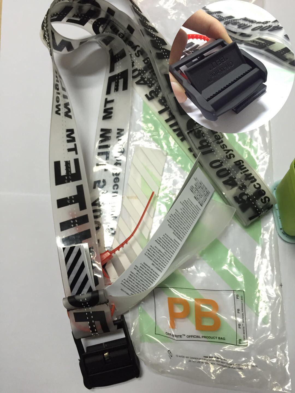 nuovo prodotto sito affidabile in vendita online Nuovo Cintura cravatta industriale off white Virgil Abloh ...