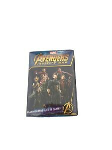 Avengers-Infinity-War-Playing-Cards-52-Deck-Multiple-Images-Thor-Spiderman
