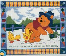 Walt Disney Winnie The Pooh's Little Helpers Counted Cross Stitch Kit