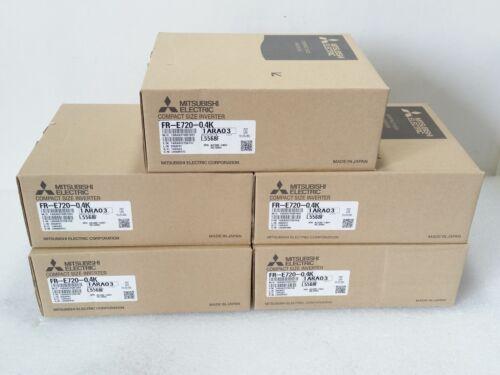 NEW IN BOX INVERTER 3-PHASE 200V MITSUBISHI FR-E720-0.4K